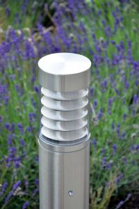 Stellus Pathos 800 - 800mm Stainless Steel Bollard Light